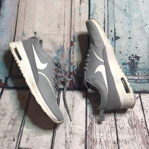 Nike Air Max Thea grey / crocodile sneaker 6.5